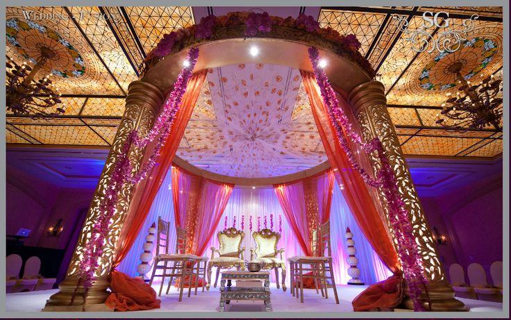 Really beautiful mandap decoration! | Indian Wedding Decoration ...