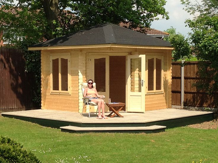 17 best images about best garden she caves get inspired on pinterest corner summer house - Man caves chick sheds mutual needs ...