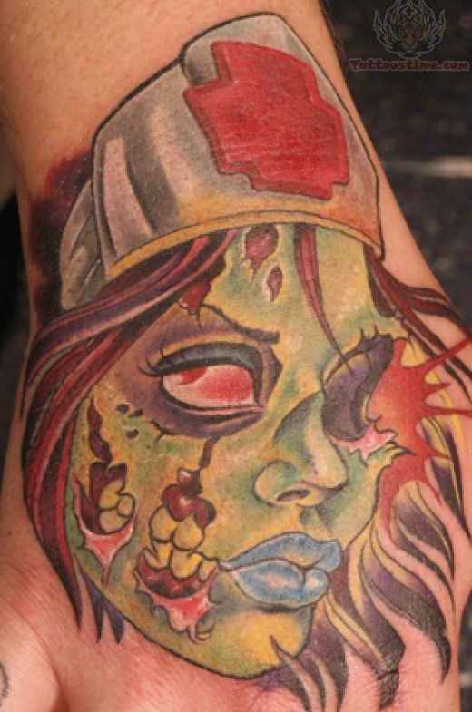 ... com img src http www tattoostime com images 188 zombie tattoo for