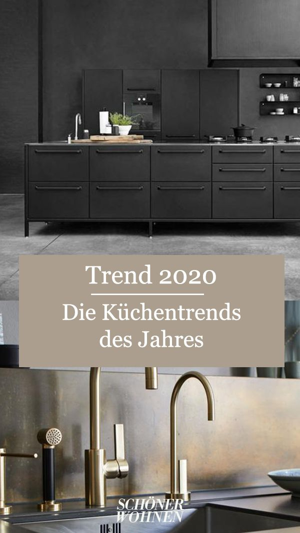 Kuchentrend Goldene Armaturen Und Spulen Bild 3 In 2020 Kuchentrends Kuche Kuchen Planung