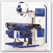 Vertical All Geared Milling Machine - Bhavya Machine Tools provides wide array of all geared vertical milling machine fabricated with high end technology. The machine is manufactured to fulfill the engineering, processing and construction requirements. Our machines are available standard as well formulated as per custom specifications. The machines are highly QA tested for zero defect and optimum performance criteria before delivery.