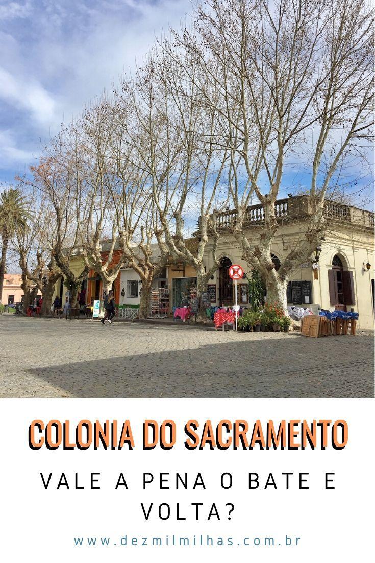 Bate E Volta Para Colonia Do Sacramento Saindo De Buenos Aires O