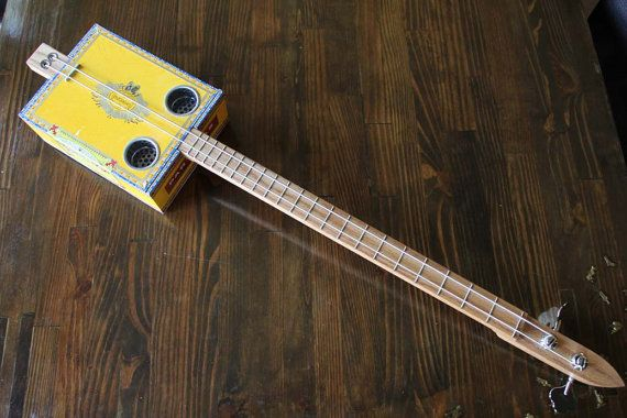2 string cigar box bass guitar 3