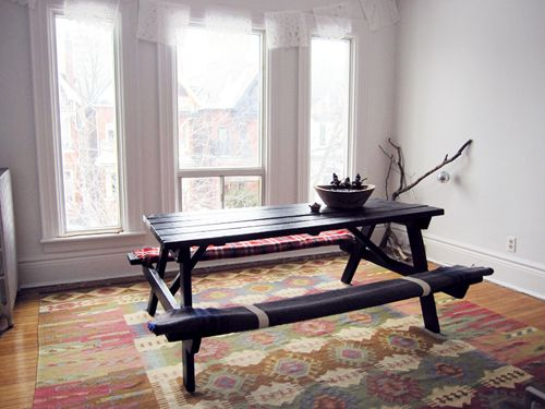 10 best picnic table inside images on pinterest | dining room