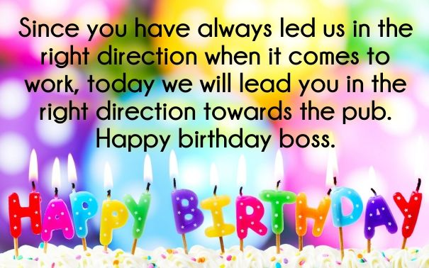 30 Best Boss Birthday Wishes Quotes With Images Happy