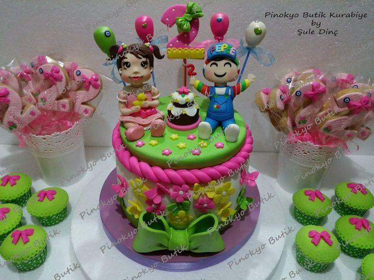 Pinokyo Butik Kurabiye ve Pasta - İzmit: Elif'in 2. yaş günü pastası...