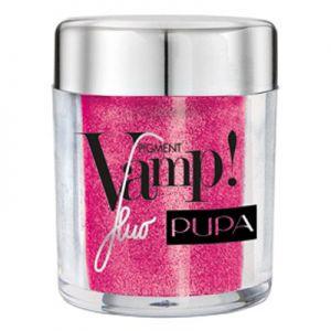 Pupa pigment vamp fluo ( ombretto di pigmenti puri wet & dry ) n. 402 fuchsia - SATURNOStore