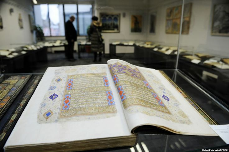 Historic Islamic Library Reopens In Sarajevo  (Radio Free Europe Radio Liberty 15 January 2014)