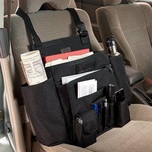 If your office is in the car, use this type of organizer