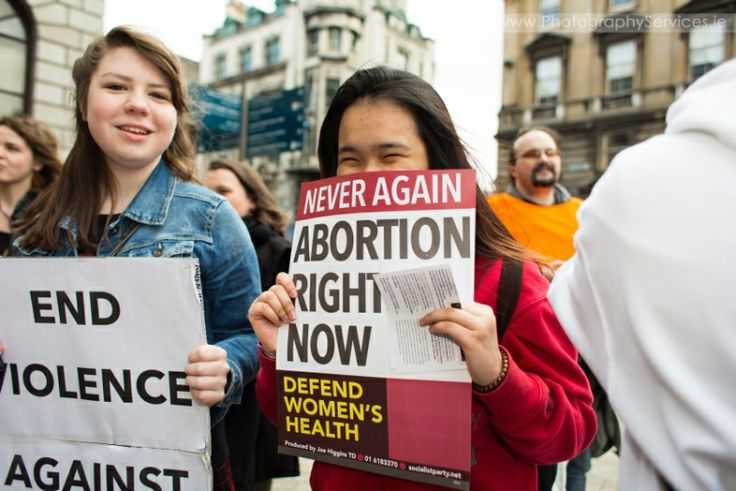 International Women's Day Protest Dublin