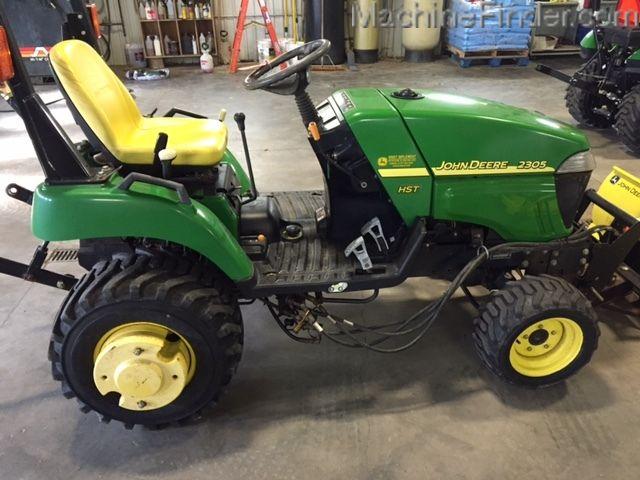 2006 John Deere 2305 - Compact Utility Tractors - John Deere MachineFinder