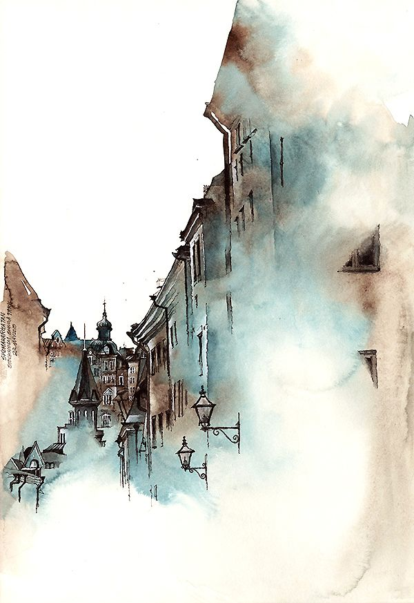 The exquisite watercolour renditions of worldwide architecture, by Sunga Park — Kuvva Blog                                                                                                                                                                                 More