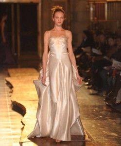versace silk gown