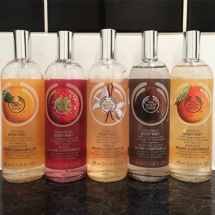 #TheBodyShop #BodyMist