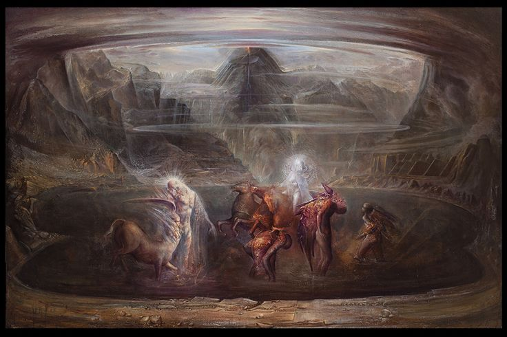 "Agostino Arrivabene Pursues Romantic Mythological Themes in ""Hierogamy"""