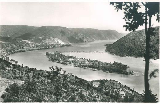 BU-F-01073-5-02616-2 Ada Kaleh (insulă pe Dunăre, acoperită în 1970 de apele lacului de acumulare al hidrocentralei Porțile de Fier I), -1959 (niv.Document)