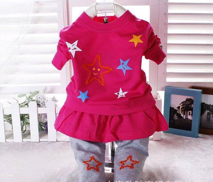 """Korean Set Untuk Baby Girl Design Star Pula Kite, Wow Harga Kilang Hanya RM23.00 SAHAJA ! Ni Dia, Set Korean Yang Sanggat Comel, Dress Top + Pants Memang Sangat Cantik, Design Star Lagi, Wow!! Harga Pun Murah, Tak Rugi Beli, Saiz Ada 0-2Years, Juga 3 Warna Pilihan. Jom Pilih2.. Saiz 80 Panjang baju 33 panjang … Continue reading """"Korean Baby Clothes dari 1688.com Hanya RM23.00"""""""