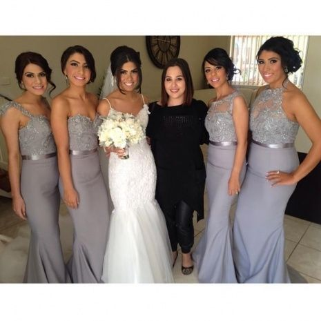 Mixed Style Bridesmaid Dresses