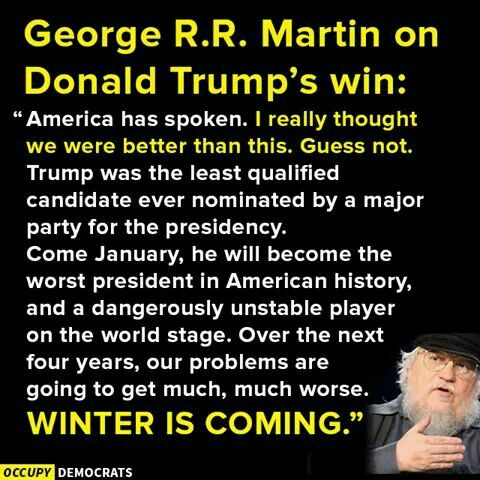 George R. R. Martin is an American fantasy, horror, and sci-fi novelist and short-story writer, screenwriter, and television producer.