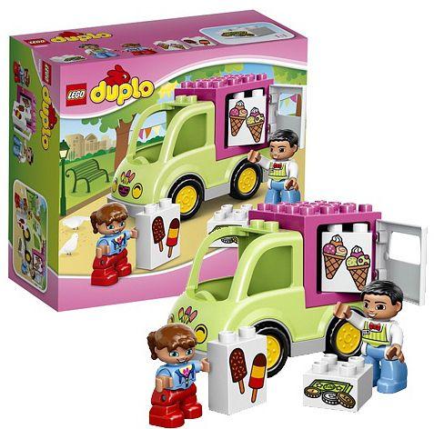 LEGO DUPLO 10586 фургон с мороженым