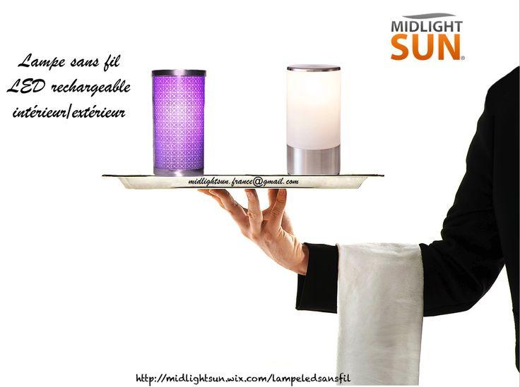 34 best Lampe à LED sans fil rechargeable - Ambiance lumineuse - lampe exterieure allumage automatique