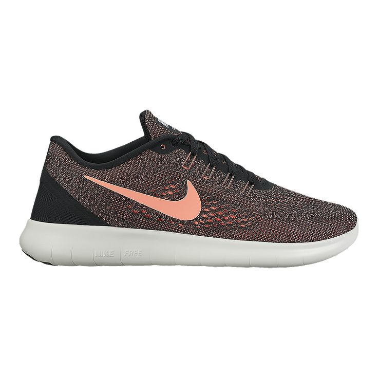 Nike Women's Free RN 2016 Running Shoes - Black/Pink