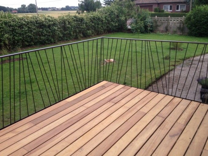 41 best Terrasse images on Pinterest Decks, Stairs and Banisters - terrasse pave et bois