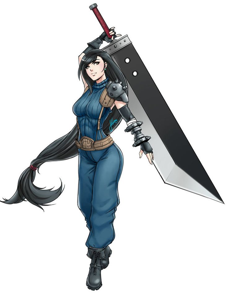 Tifa as a First Class SOLDIER like her bf Cloud | Final Fantasy VII