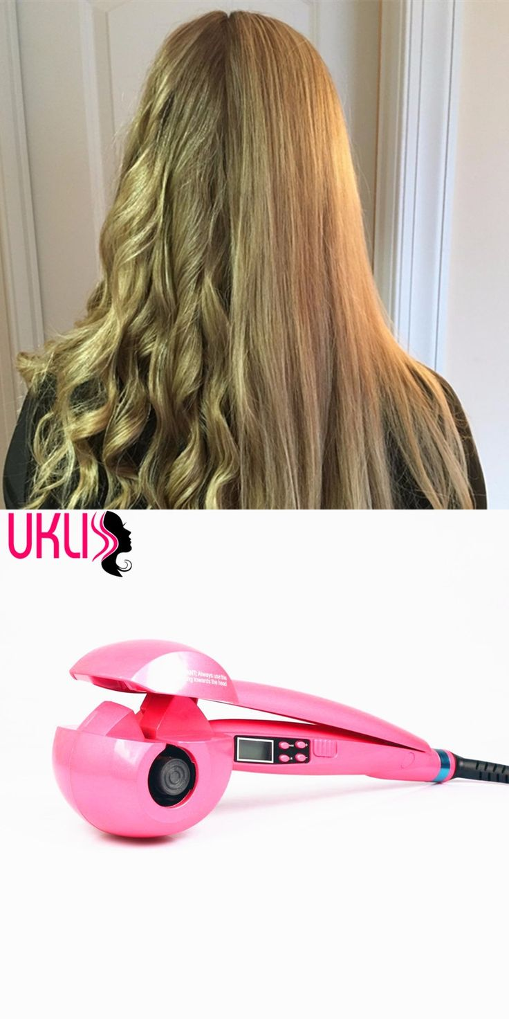 Digital hair iron Curler with CE certificationProfessional pro LCD digital automatic hair curler iron ceramic roller curling