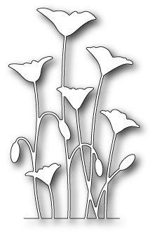 [99137] DIES- Row of Poppies