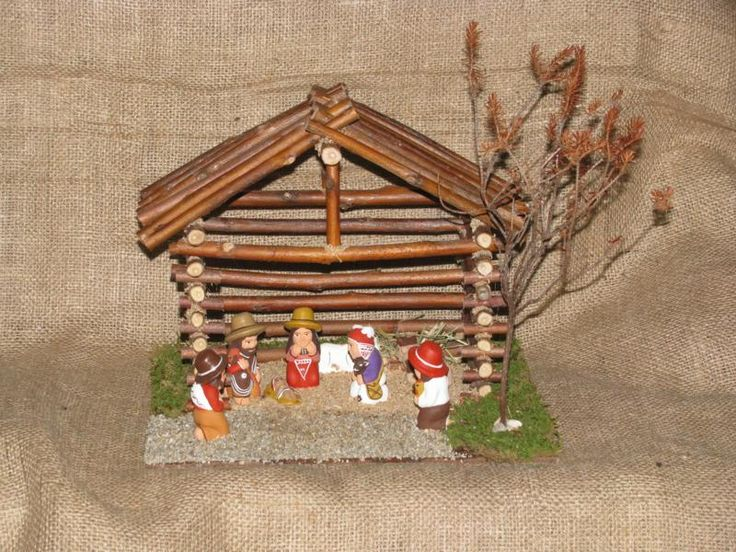 Presepi Di Legno Betlemme : Presepe betlemme cm bue in legno della valgardena decorato