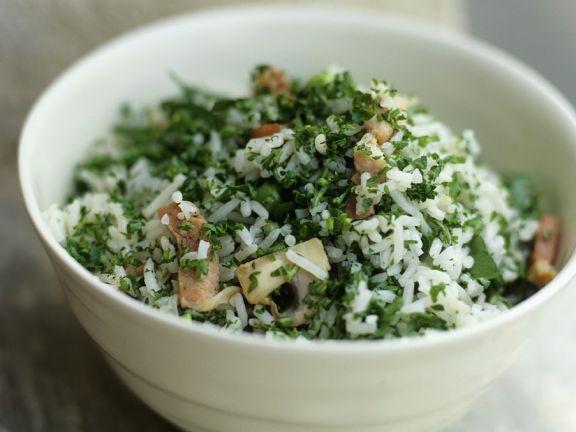 Reis-Pilzsalat mit Speck ist ein Rezept mit frischen Zutaten aus der Kategorie Reissalat. Probieren Sie dieses und weitere Rezepte von EAT SMARTER!