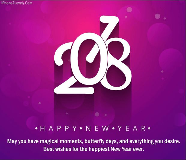 Happy New Year 2018 Quotes : QUOTATION U2013 Image : Quotes Of The Day U2013  Description Special New Year 2018 Wishes Quote Image Sharing Is Power U2013  Donu0027t Forget To ...