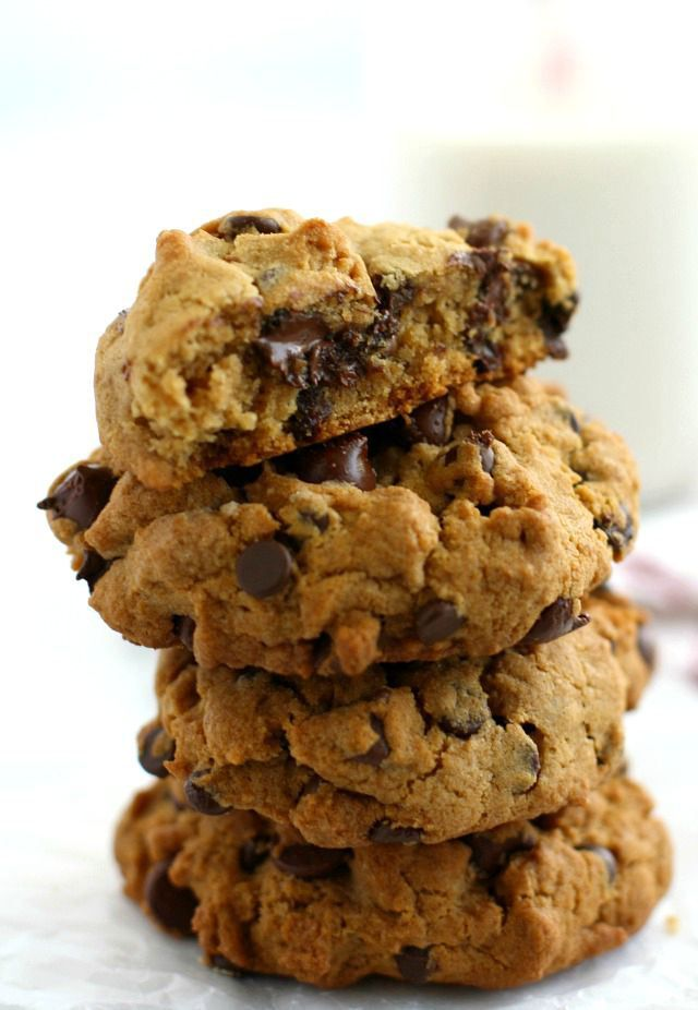 Thick and Chewy Egg Free Chocolate Chip Cookies (Vegan and GF ...