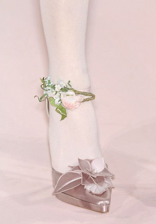Shoes at Christian Lacroix Haute Couture Spring 2007