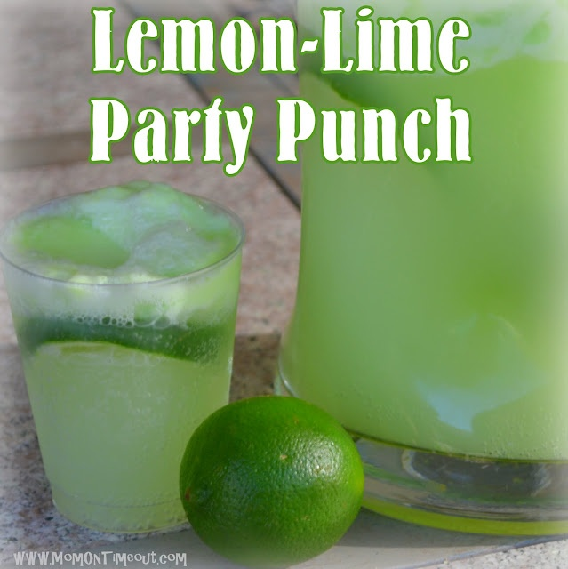 "Mom On Timeout: Lemon-Lime ""HULK"" Party Punch {#Recipe}"
