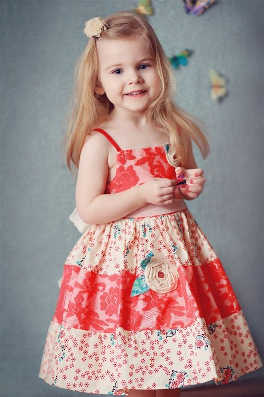 Moxie & Mabel - Lorelai Dress in Poppy