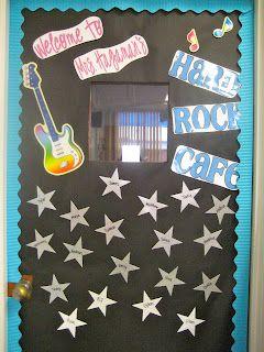Rock Star theme classroom ideas