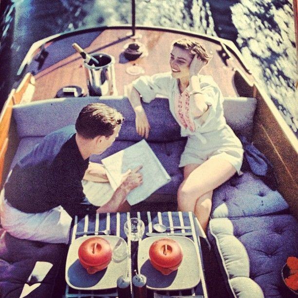 1950's - could be today. Chic is chic. #chic #entertaining