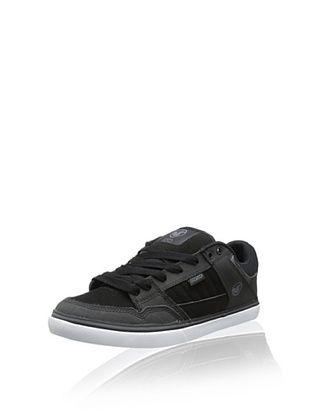 35% OFF DVS Men's Ignition Skate Shoe (Black/Grey Leather)