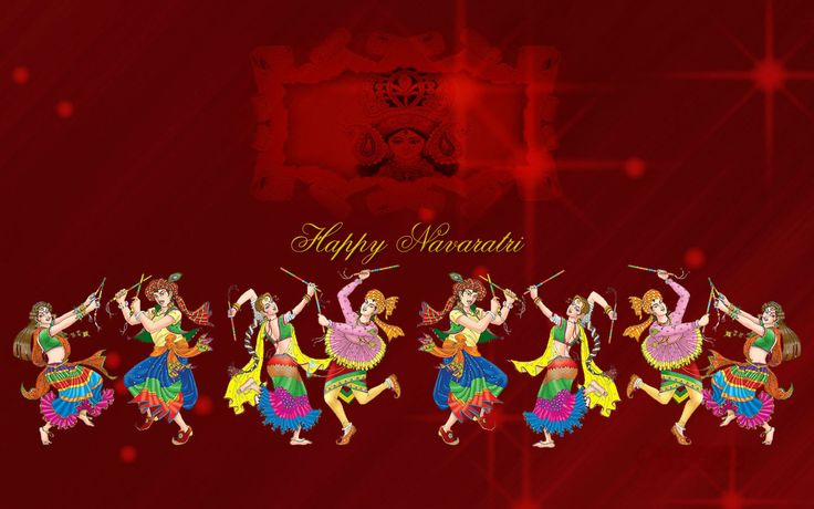 Shubh Navratri Wallpaper Download for Desktop