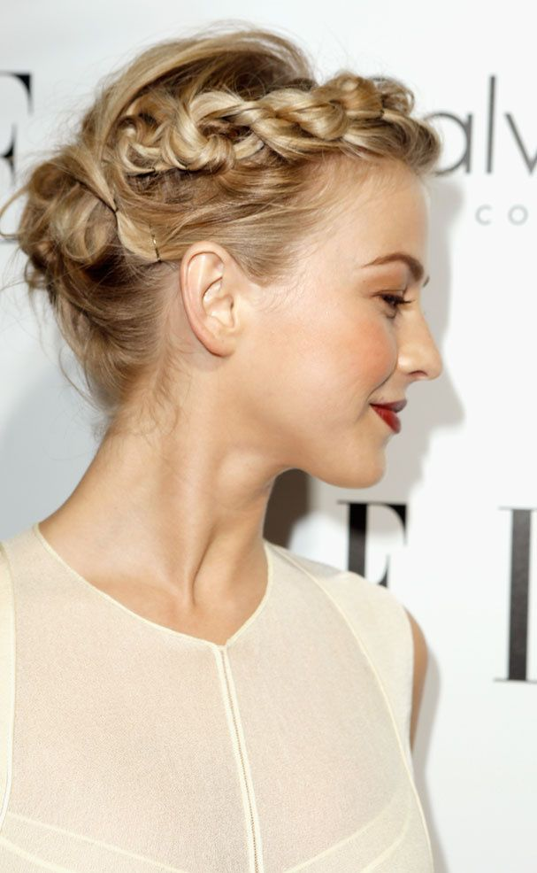 La couronne de tresses de Julianne Hough