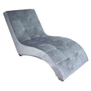 ORE International Modern Chaise Lounge - Indoor Chaise Lounges at Hayneedle