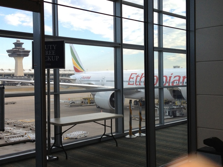 Ethiopian Airlines in Washington - it was a fun flight