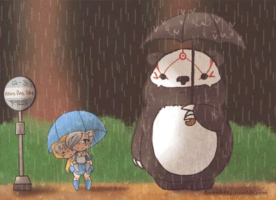 Crossover My Neighbor Ursa! RWBY with the little winter and Weiss OMG