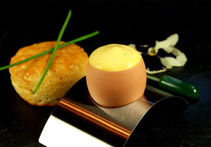 Egg Foam with Chive Infusion 720
