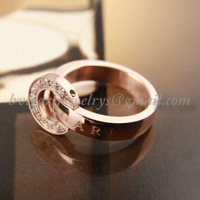 vlgari bulgari ring 14k rose gold diamonds bvlgari ringjewelry