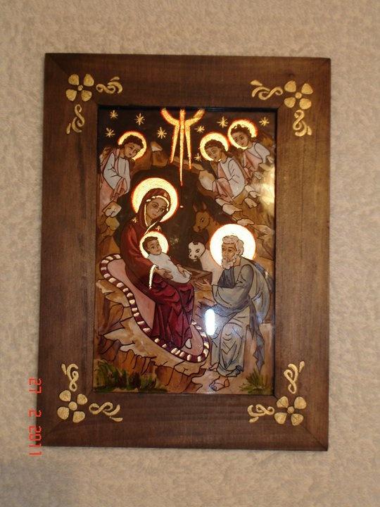 197916_187116864658431_5419024_n.jpg (540×720)  Orthodox icon, tempera on glass Adriana Mihoc Dragus