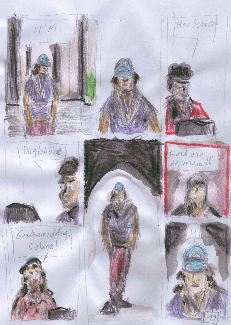 Comic by Martina Blinndauer and me (idea)