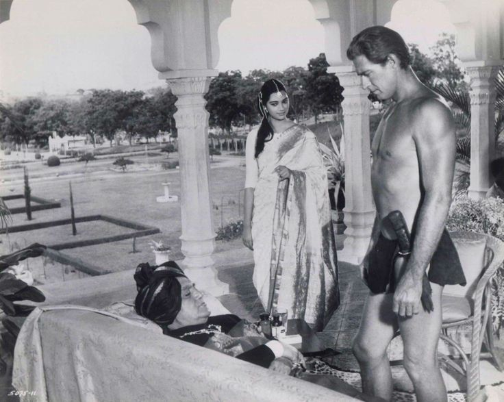 "got60s: "" Simi Garewal in Tarzan Goes to India, 1962 """